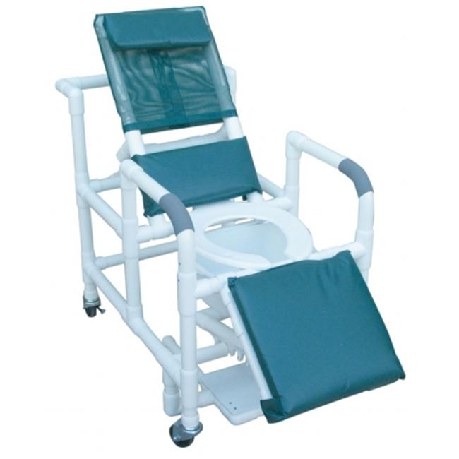 MJM International 196-SQ-PAIL Reclining Shower Chair