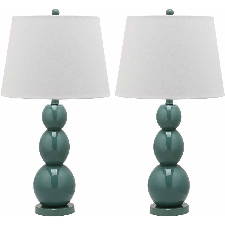 Safavieh Jayne Three Sphere Glass Lamp, Set of 2