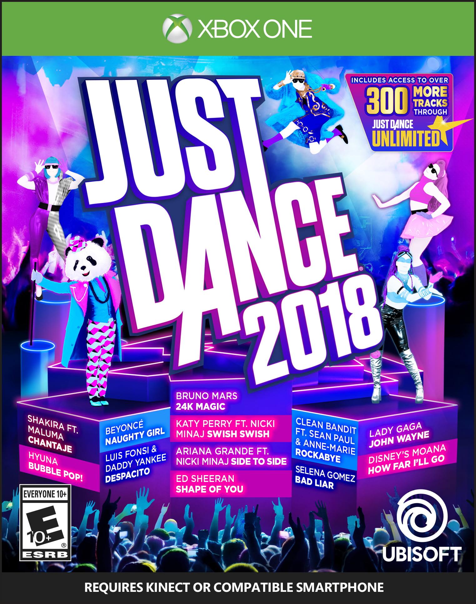 Just Dance 2018, Ubisoft, Xbox One, 887256028664