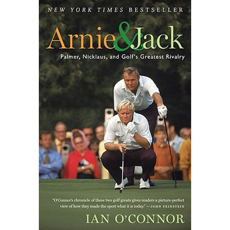 Jack Nicklaus Hand Signed (Arnie and Jack : Palmer, Nicklaus, and Golf's Greatest)