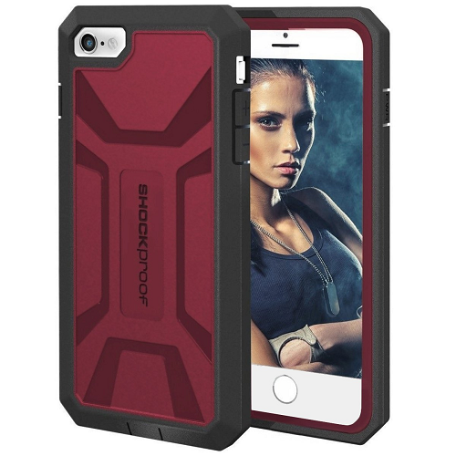 iPhone 6 6S Case with Built-in Screen Protector [Outdoor Series] (Encased Lifetime Warranty)