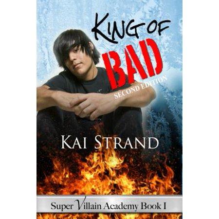 Super Villain Academy Book 1 : King of Bad - Super Villains With Beards