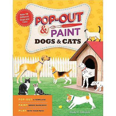 In-68373 Pop-Out & Paint Dogs & Cats Price For 1 Piece - Painted Dog Face For Halloween
