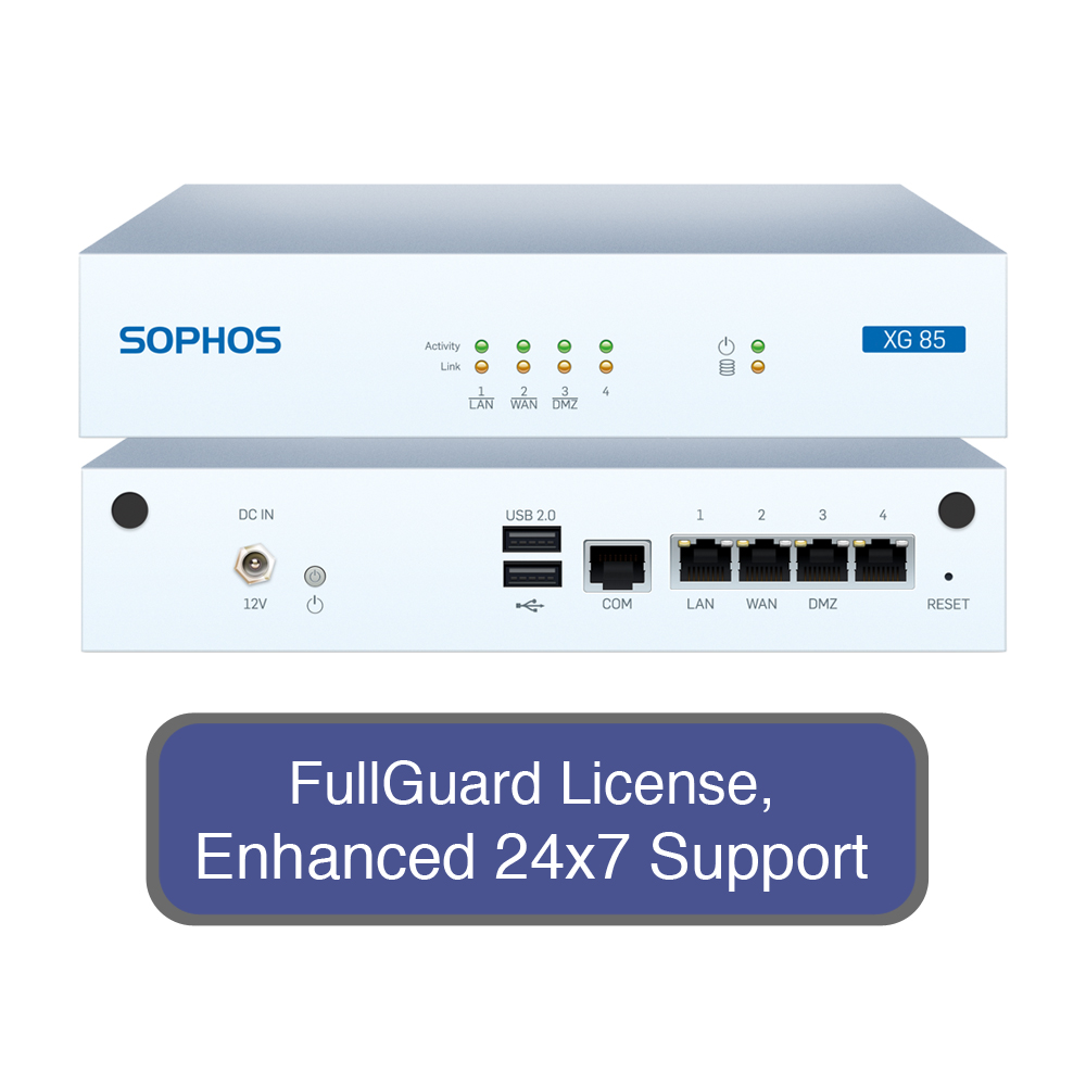 SOPHOS XG 85 Next-Gen Firewall TotalProtect Bundle with 4...