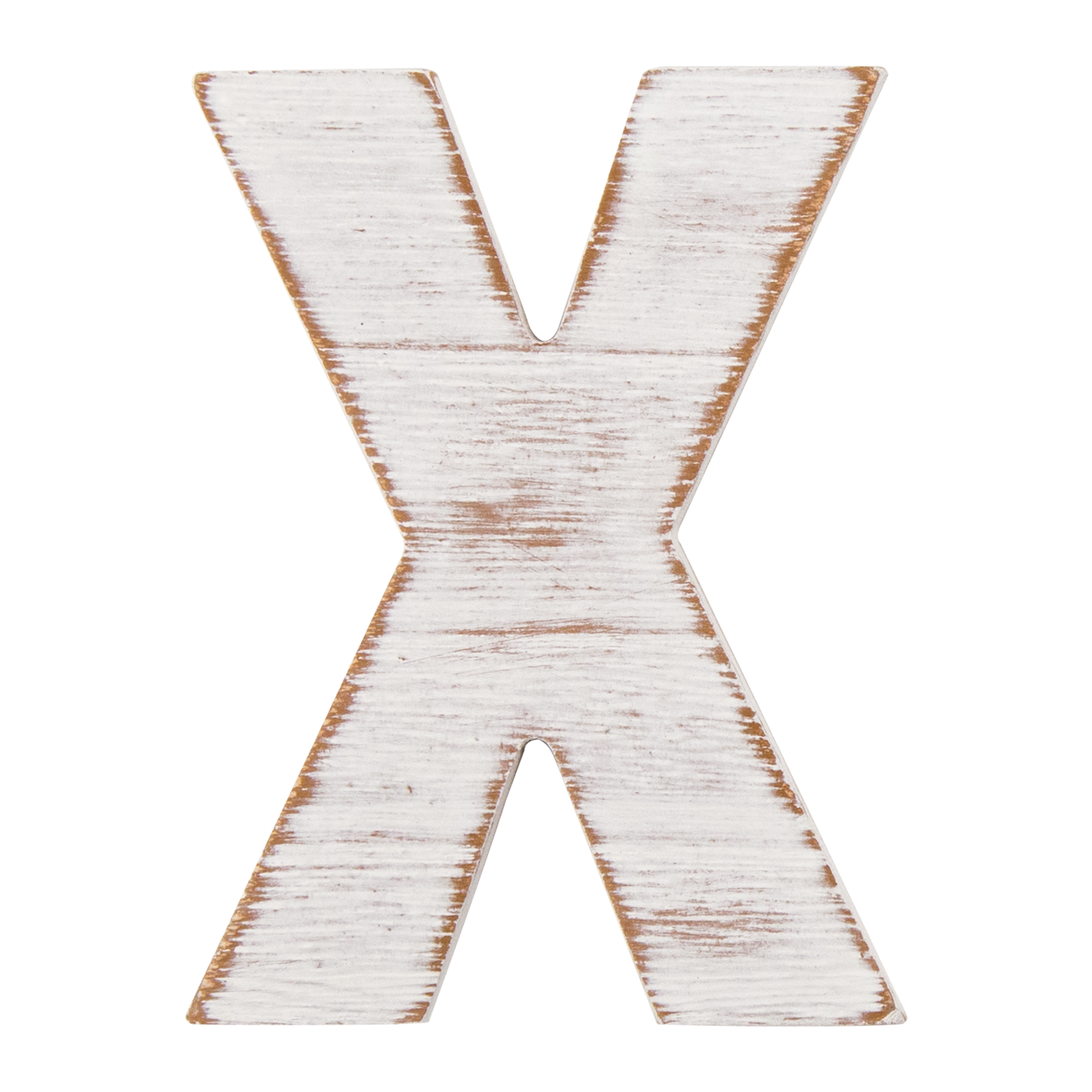 On the Surface Rustic Letter X by Horizon Group USA