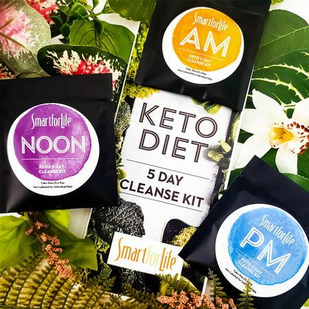 Smart for Life 5 Day Keto Cleanse Kit Detox
