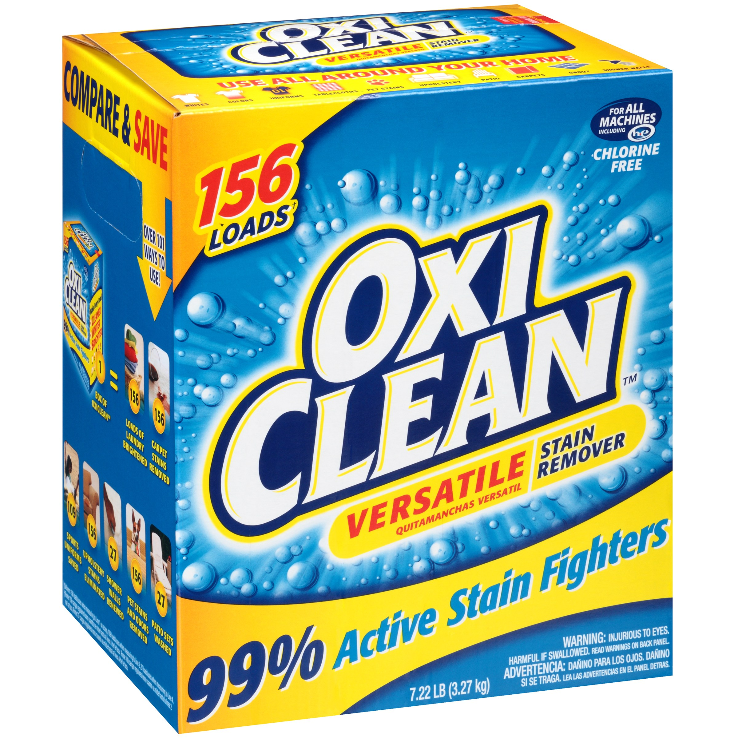 OxiClean Versatile Stain Remover, 115.52 Oz