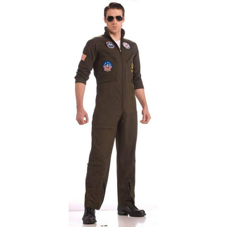 Top Gun Flight Suit Costume Adult - Gun Costumes