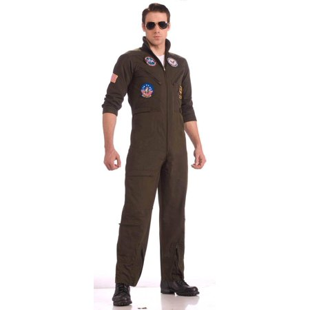 Top Gun Flight Suit Costume Adult