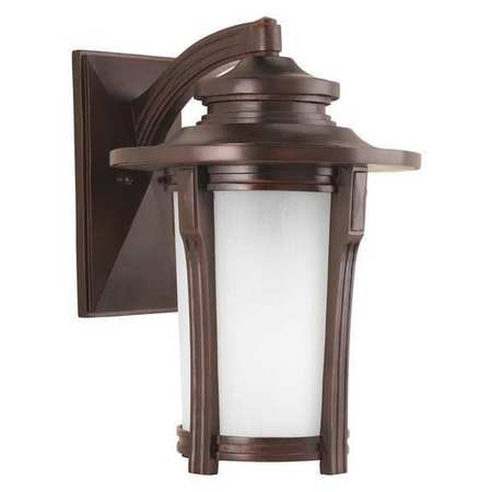PROGRESS LIGHTING Outdoor Wall Lantern,1-42W Gu24 P6607-97