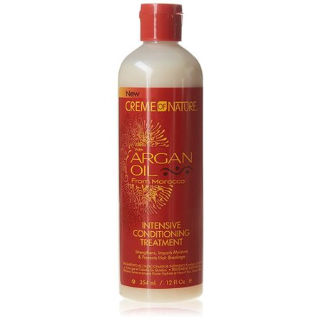 Creme of Nature Argan Oil Intensive Conditioning Treatment, 12.0 FL