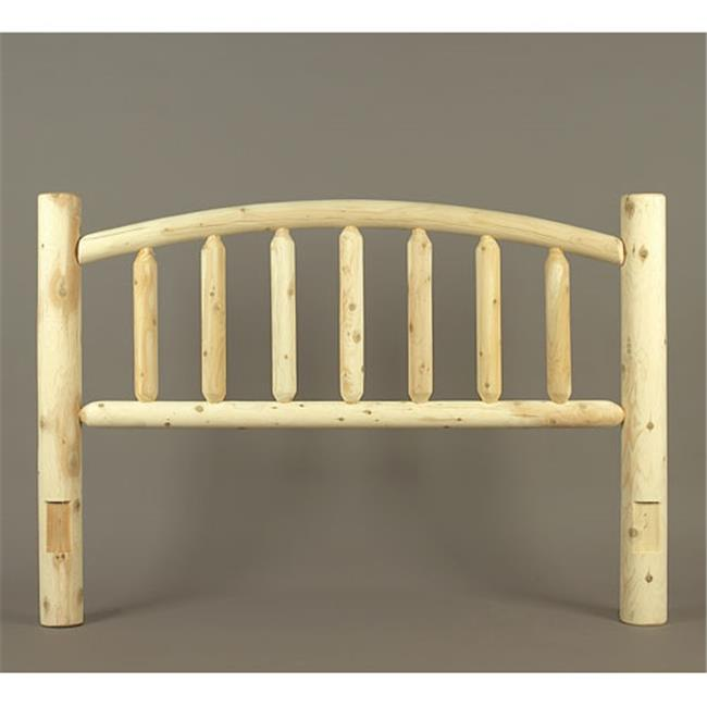 Rustic Natural Cedar Furniture 10438DH King Headboard Only