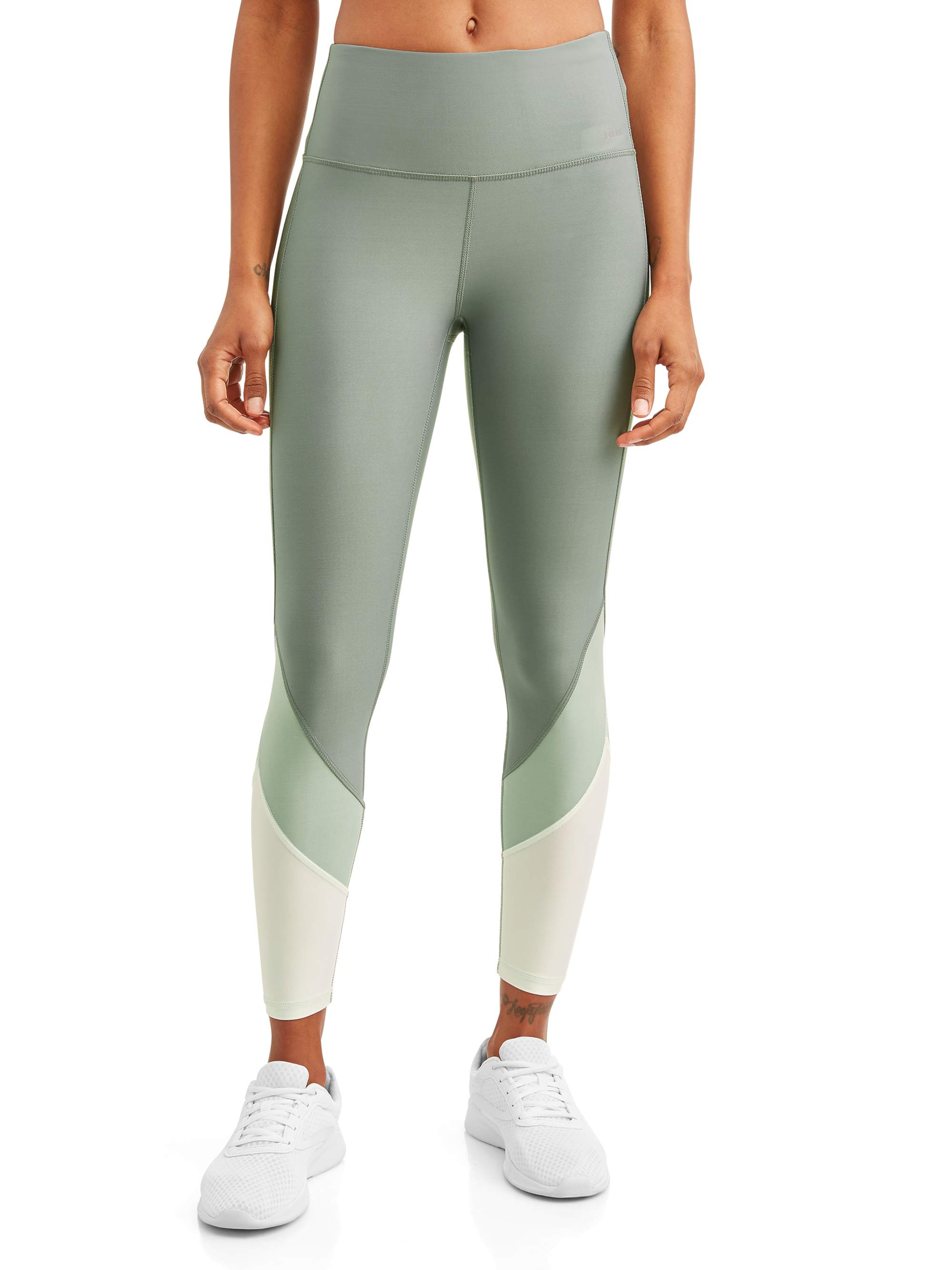 0bc6d73a19cabf RBX - Women's Active 25-7/8 Color Block Legging - Walmart.com
