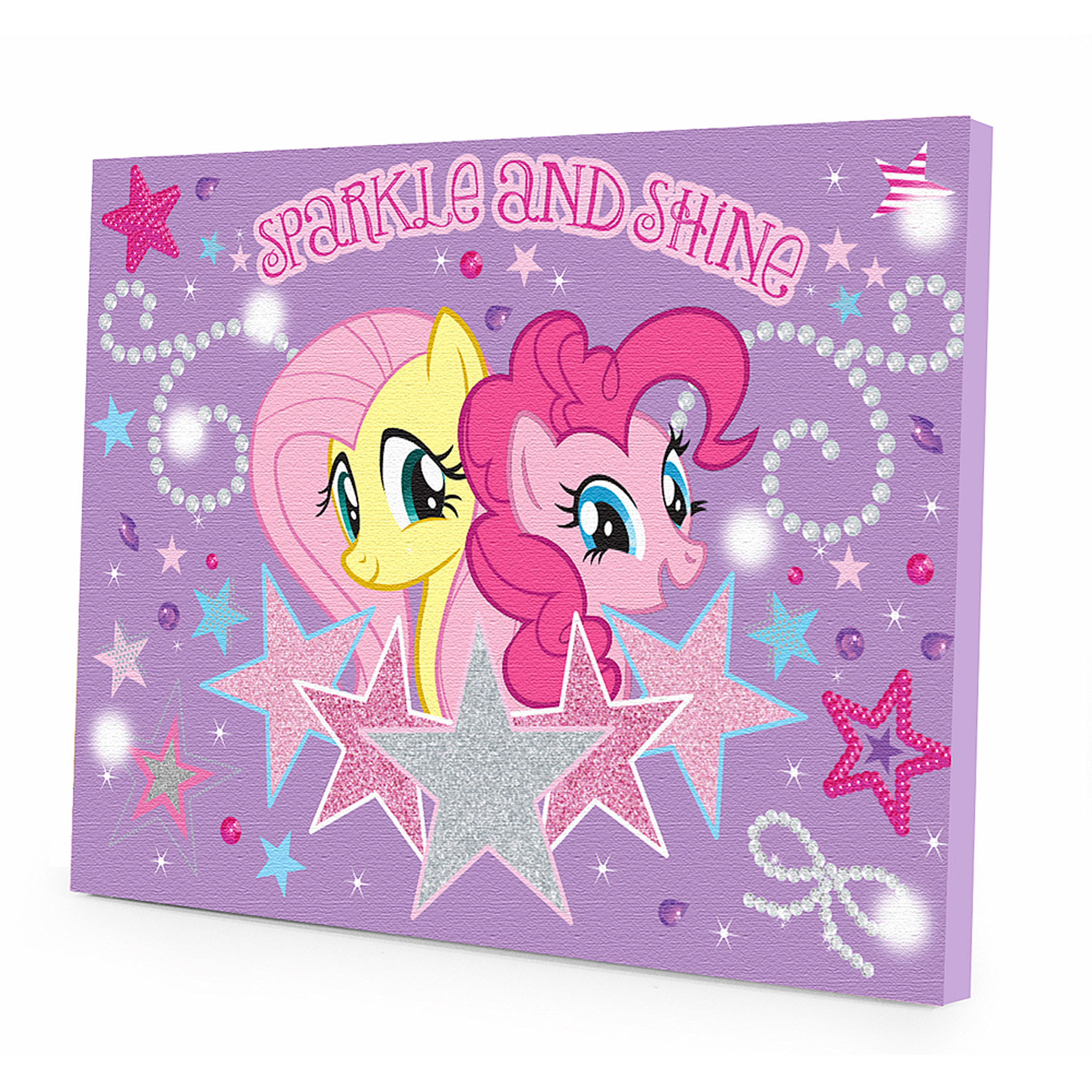 My Little Pony LED Light Up Canvas Wall Art