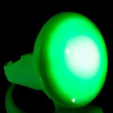 Huge Blink and Glow Green LED Ring