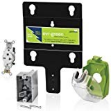 Leviton EVK02 M Evr Green Pre Wire Installation Kit for 16A Charging Stations