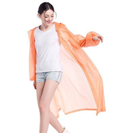 Fashion Unisex Lightweight Portable Rain Coat Waterproof Camping (Best Light Rain Jacket Hiking)