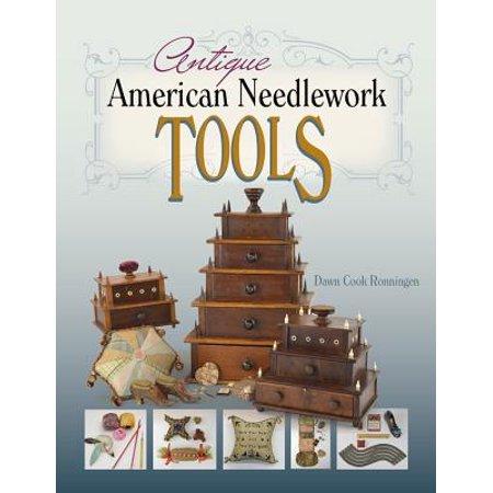 Antique American Needlework - Sampler Antique Needlework