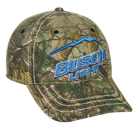 Realtree extra busch light beer camo hunting hat for Fish tape walmart