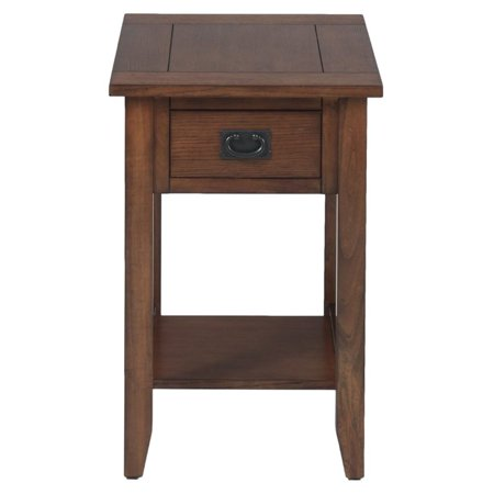 Oak Mission Style Table - Bowery Hill End Table in Mission Oak