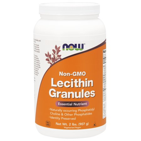 NOW Supplements, Lecithin Granules, 2-Pound