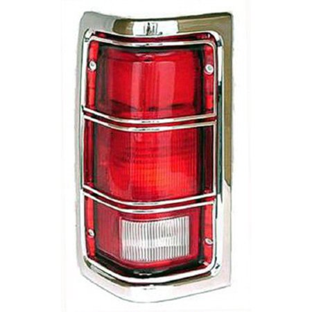 New Driver Side Left Tail Lamp Assembly 4163151 includes Chrome Trim