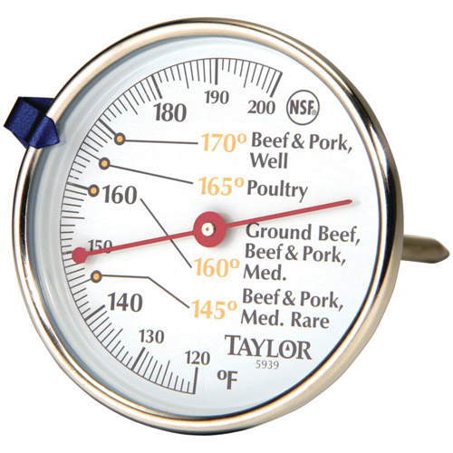 Taylor 5939N Meat Dial Thermometer