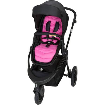 Baby Trend Debut Sport 3-Wheel Stroller, Plumeria