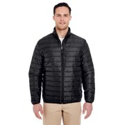 A Product of UltraClub Adult Quilted Puffy Jacket - BLACK - XL [Saving and Discount on bulk, Code Christo]