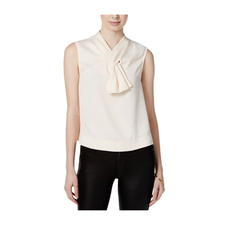 Rachel Roy Womens Sleeveless Bow Pullover Blouse almondmilk S - image 1 of 1