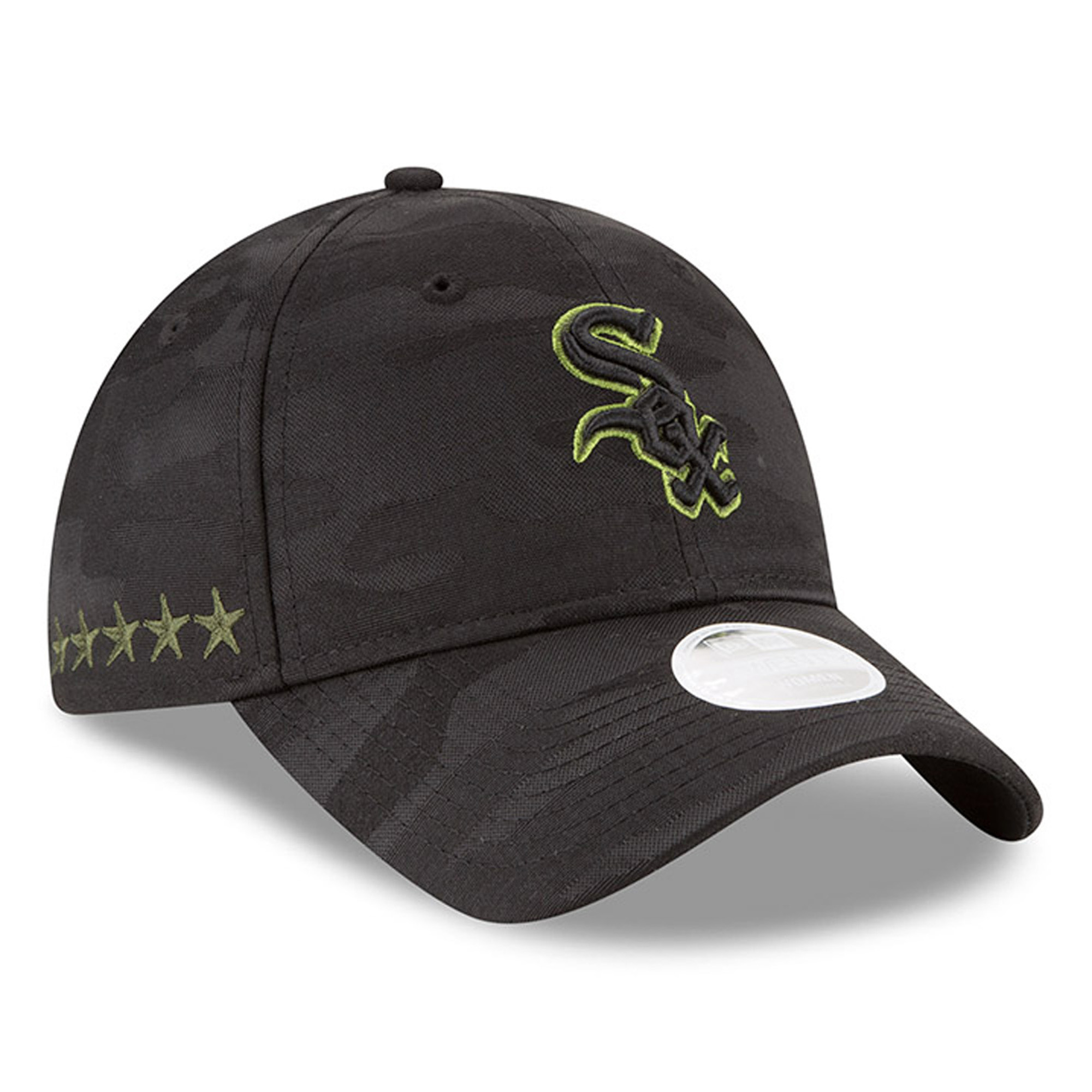 Chicago White Sox New Era Women's 2018 Memorial Day 9TWENTY Adjustable Hat - Black - OSFA