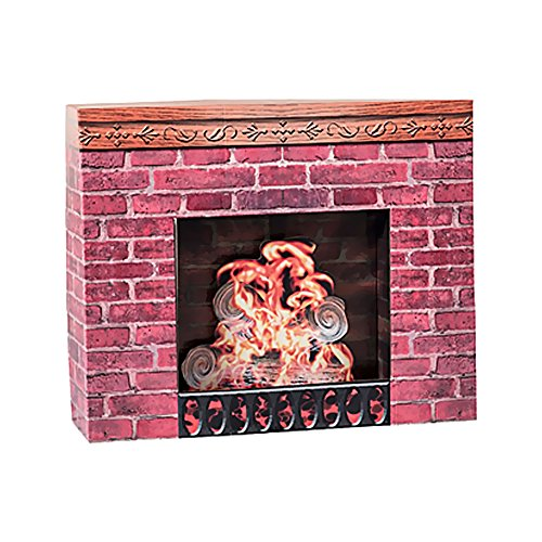 Shindigz Party Accessory Fireplace Prop