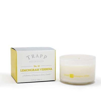 Trapp Candle Flowers - Trapp Candles No 10-Lemongrass Verbena-3.75 Oz Poured Candle