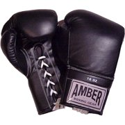 Amber Sporting Goods ABG-3007-26-B Professional Laceup Gloves 26oz