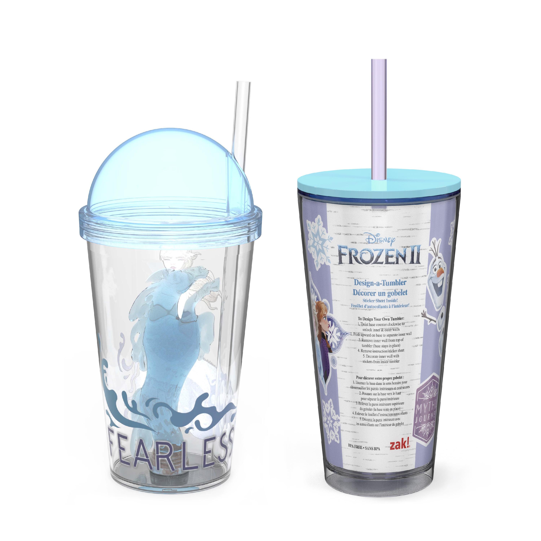 Plastic Drinking Set//3 Birthday Party Favor Cups Disney FROZEN 2 22 oz.