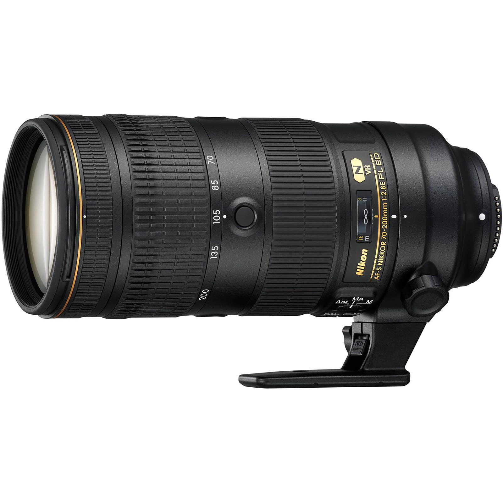 Nikon 70-200mm f 2.8E FL VR AF-S ED Zoom-Nikkor Lens by Nikon