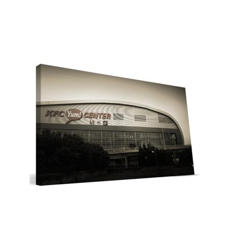 Paulson Designs Louyc1636 Louisville Kfc Yum Center Canvas  44  16 X 36 In
