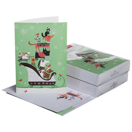 32 pack hallmark christmas greeting cards with envelopes holiday box 32 pack hallmark christmas greeting cards with envelopes holiday box set foil glitter cute m4hsunfo