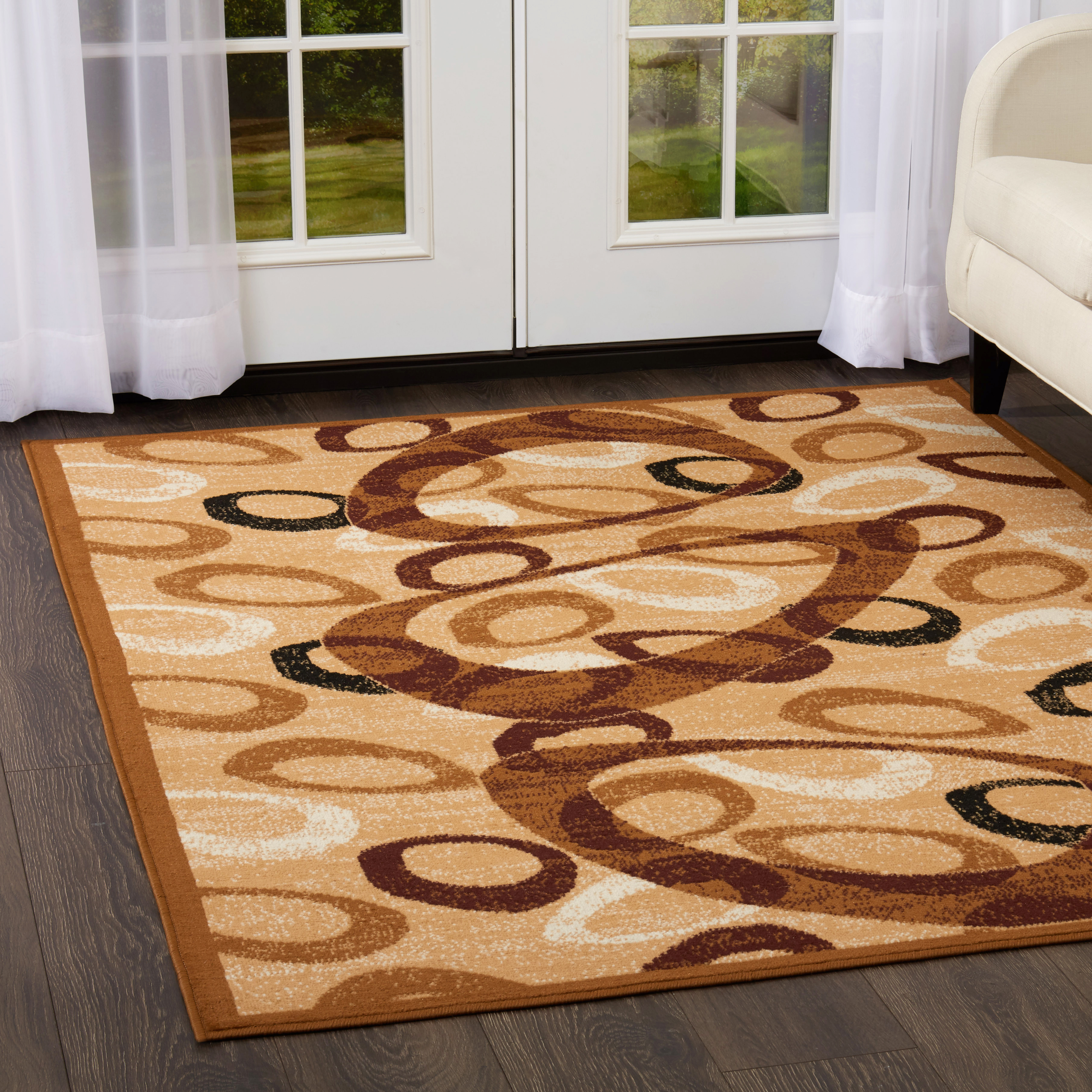 Home Dynamix Premium Collection Sand Swirl Area Rug