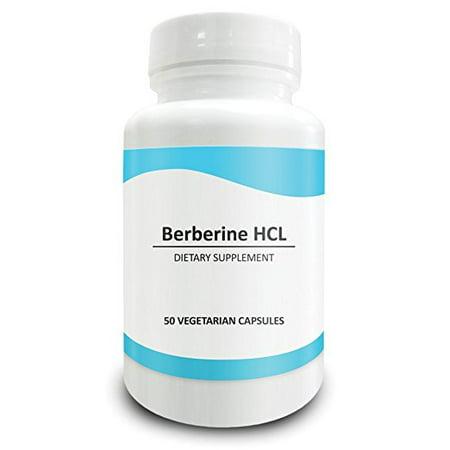 - Pure Science Berberine 500mg - Berberine Supplements Regulate Cholesterol Levels, Boost Immunity, Promote Metabolism and Brain Function - 50 Berberine HCL Vegetarian Capsules