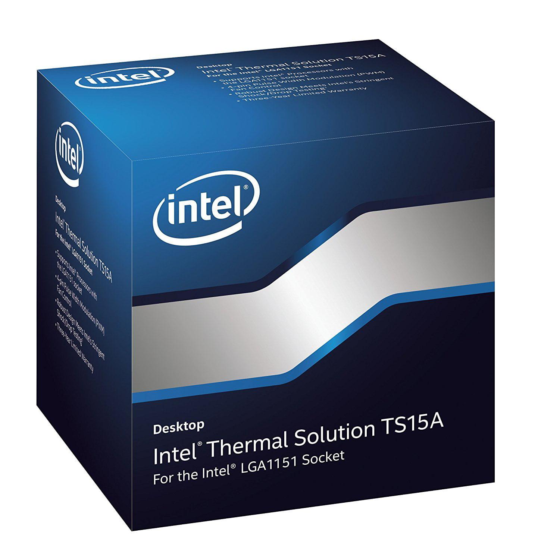 Fan Heatsink Assembly Air 1151 Cooling BXTS15A By Intel