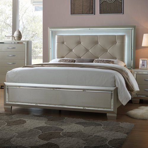 Rosdorf Park Domenick Full Upholstered Platform Bed Frame with Slide-Out Trundle