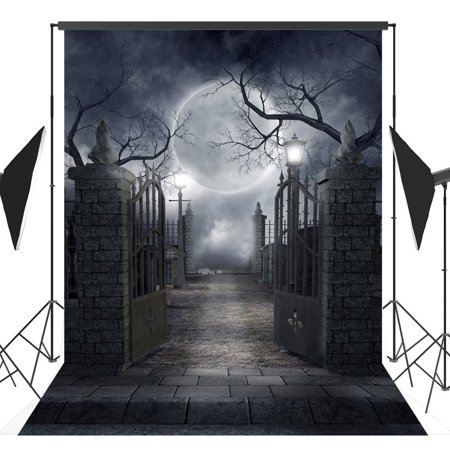 GreenDecor Polyester Fabric 5x7ft Halloween theme photography Backdrop Background studio prop](Cute Halloween Themed Backgrounds)