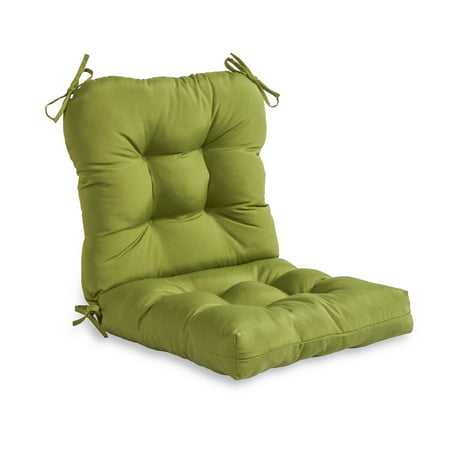 Hunter Green 38 x 21 in. Outdoor Seat/Back Combo Chair Cushion