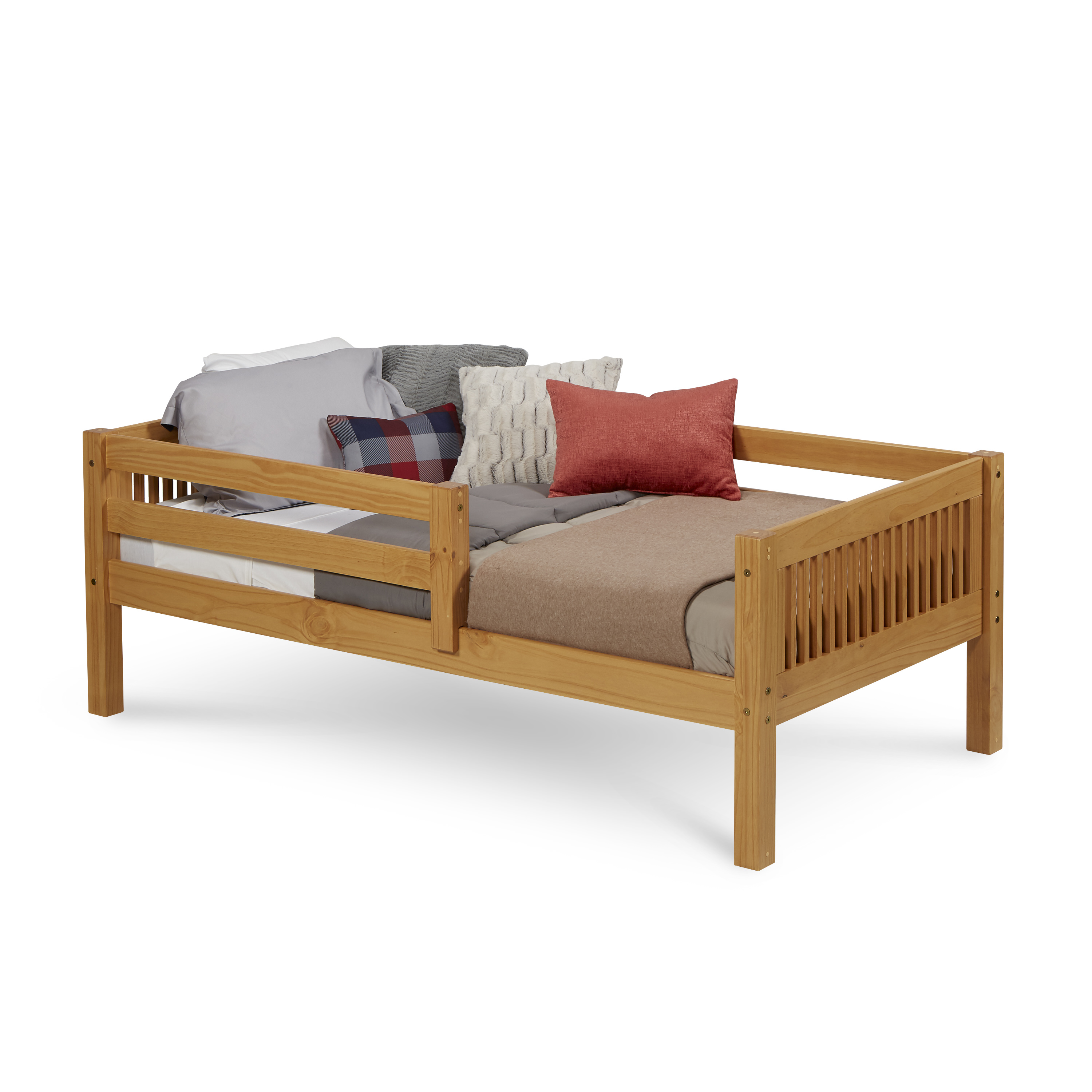Camaflexi Twin Size Day Bed With Front Guard Rail