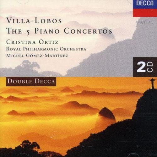 Ortiz/Martinez/Royal Philharmonic Orchestra - Heitor Villa-Lobos: The 5 Piano Concertos [CD]