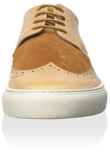 Zanzara Men's Buttero Sneaker, Camel, 9 M US