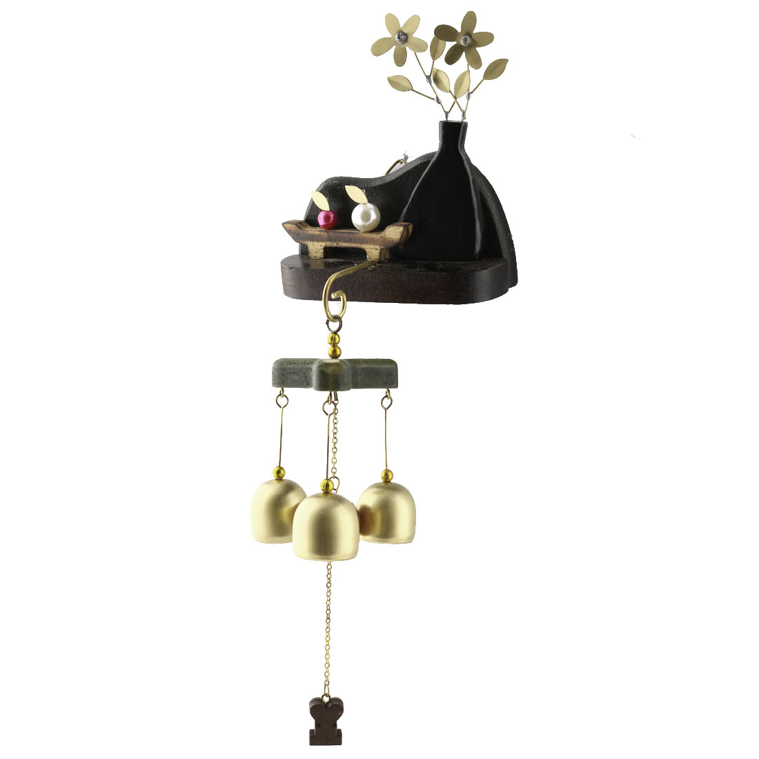 Exceptionnel Unique Bargains Home Door Copper Birthday Present Hook Hanging Decor Wind  Bells Chime Windbell