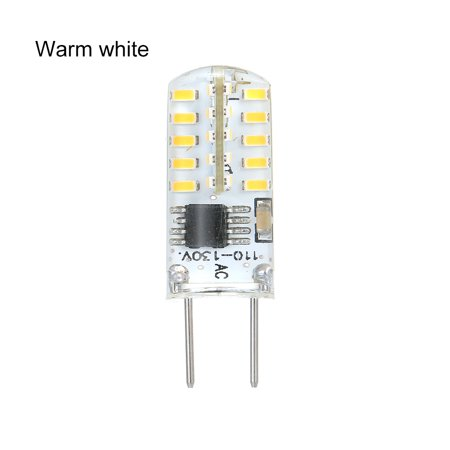 Dimmable G8 LED Bulb 2 Watt G8 Bi-Pin Base High Quality Silica Gel Light Bulb Warm White