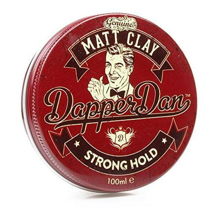 Dapper Dan Matt Clay Strong Hold, 100 ml (Sharp And Dapper)